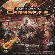 【中古】ボードゲーム [日本語訳無し] シャドウラン クロスファイヤ (Shadowrun: Crossfire)