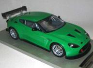 【中古】ミニカー 1/18 アストンマーチンV12ザガート プレスバージョン (グロスグリーン) [TM-1801E]