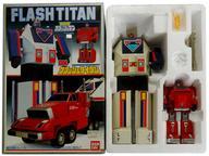 【中古】おもちゃ [破損品/付属品欠品] DXフラッシュタイタン 「超新星フラッシュマン」