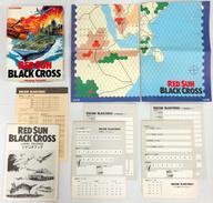 【中古】シミュレーションゲーム [破損品/付属品欠品] レッドサンブラッククロス (Red Sun Black Cross)