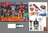 【中古】おもちゃ [破損品/付属品欠品 6大守護獣超合神セット 「恐竜戦隊ジュウレンジャー」