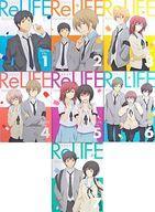 【中古】アニメBlu-ray Disc ReLIFE 完全生産限定版 BOX付き全7巻セット