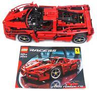 【中古】おもちゃ [ジャンク品] LEGO 1/10 エンツオ・フェラーリ 「レゴ レーサー」 8653