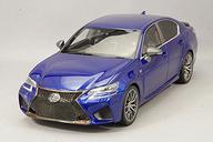 【中古】ミニカー 1/18 Lexus GS F(ブルー) 「SAMURAIシリーズ」 [KSR18017BL]