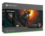 【新品】Xbox Oneハード XboxOne X本体 シャドウオブザトゥームレイダー同梱版