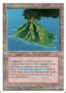 【中古】マジックザギャザリング/イタリア語版/R/Revised Edition(リバイズド)/土地 [R] : 【イタリア語版】【白枠】Volcanic Island