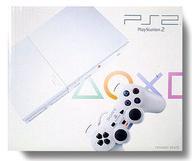 【中古】PS2ハード プレイステーション2本体 セラミック・ホワイト(状態:本体状態難)