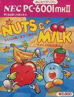 【中古】PC-6001mkII/6601 カセットテープソフト NUTS & MILK