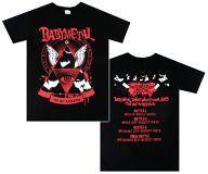 【中古】Tシャツ(女性アイドル) BABYMETAL 記念Tシャツ ブラック Sサイズ 「BABYMETAL DEATH MATCH TOUR 2013 -五月革命-」