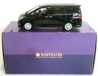 【中古】ミニカー [破損品] 1/18 Toyota Alphard 350S C Package(ブラック) 「SAMURAIシリーズ」 [KSR18013BK]