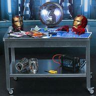 【中古】フィギュア トニー・スタークの開発作業セット 「アイアンマン3」 ホットトイズ・アクセサリー・コレクション 1/6 アクションフィギュア用アクセサリー【タイムセール】