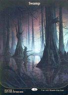 【中古】マジックザギャザリング/英語版FOIL/C/Unstable/基本土地 [C] : 【FOIL】Swamp/沼