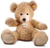 【中古】ぬいぐるみ Fynn Teddy bear-フィン ベージュ テディベア- 80cm【タイムセール】