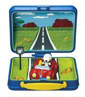 激安通販 中古 トレーディングフィギュア 5.ドライブ 高品質 SNOOPY WOODSTOCK Museum Lunchbox Little