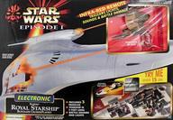 【中古】おもちゃ Electronic Naboo Royal Starship Blockade Cruiser Playset -エレクトリック ナブー・ロイヤル・スターシップ ブロッケード・クルーザープレイセット- 「スター・ウォーズ エピソード1/ファントム・メナス」