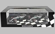 【中古】ミニカー 1/43 メルセデス AMG ペトロナス F1 チーム W07 ハイブリッド コンストラクター ワールド チャンピオン 2016 2台セット [412177840]