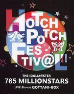 【中古】邦楽Blu-ray Disc 不備有)THE IDOLM@STER 765 MILLIONSTARS HOTCHPOTCH FESTIV@L!! LIVE Blu-ray GOTTANI-BOX [完全生産限定盤](状態:本編DISC3・4欠品)