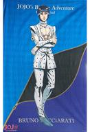 【エントリーでポイント最大19倍!(5月16日01:59まで!)】【中古】抱き枕カバー・シーツ(キャラクター) ブローノ・ブチャラティ 大型ブランケット 「ジョジョの奇妙な冒険 第五部 黄金の風 in J-WORLD TOKYO」