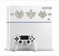 【中古】PS4ハード プレイステーション4本体 GOD EATER 2 RAGE BURST Edition 500GB (グレイシャー・ホワイト) [CUH-1100AB02]