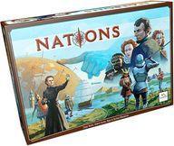 【中古】ボードゲーム [日本語訳無し] ネイションズ (Nations)