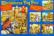 【中古】ボードゲーム [日本語訳無し] カルカソンヌ ビッグボックス 第3版 (Carcassonne Big Box 3)