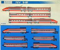 【中古】Nゲージ(車両) 1/150 TGV 6両セット [10-091]
