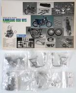 【中古】プラモデル [破損品] 1/12 KAWASAKI 650 W1S 「HIGH-TECH MODEL」 [G-614]