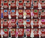 【中古】小物(女性) 全24種セット 「キャバすか学園 卓上アクリルスタンドコレクション」 AKB48グループショップ限定