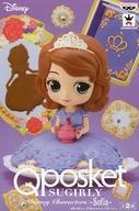 中古 フィギュア ソフィア 通常バージョン ちいさなプリンセス Q Characters Disney 予約販売品 posket 価格交渉OK送料無料 SUGIRLY -Sofia-