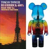 【中古】フィギュア BE@RBRICK-ベアブリック TOKYO TOWER MAGIC TIME Ver. 400%