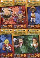 【中古】フィギュア 全6種セット 「ワンピース」 ワールドコレクタブルフィギュア-Battle of Luffy Whole Cake Island-