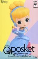 中古 品質保証 フィギュア シンデレラ 通常バージョン Q -Cinderella- 割り引き posket Characters Disney perfumagic