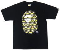 【中古】Tシャツ(キャラクター) うずまきナルト(APEロゴ) Tシャツ ブラック Lサイズ 「NARUTO-ナルト- 疾風伝 BAPE/A BATHING APE×NARUTO & BORUTO」