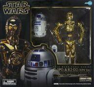 【中古】フィギュア ARTFX C-3PO&R2-D2(EP4 Ver.) 「スター・ウォーズ エピソード4/新たなる希望」 1/7 PVC製塗装済み簡易組立キット