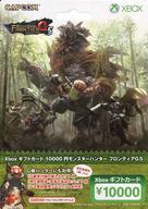 【中古】XBOX360ハード Xbox ギフトカード10000円『モンスターハンター フロンティアG5』バージョン