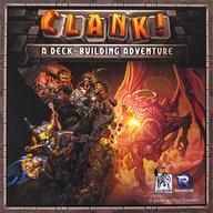 【中古】ボードゲーム [和訳シール貼付済/日本語訳無し] クランク! (Clank! A Deck Building Adventure)