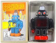 【中古】おもちゃ SPARKING ROBO WIND-UP -スパーキングロボ ワインドアップ- ブラック