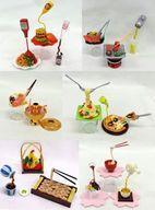【中古】食玩 トレーディングフィギュア [破損品] 全6種セット 「ぷちサンプルシリーズ おどる食品サンプル」