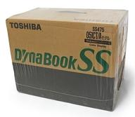 【エントリーでポイント10倍!(4月28日01:59まで!)】【中古】PCハード ノート型PC本体 DynaBook SS475 051CT/A SS4755TA (未開封品)