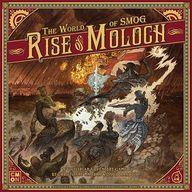 【中古】ボードゲーム [日本語訳無し] ワールド・オブ・スモッグ ライズ・オブ・モロク (The World of SMOG:Rise of Moloch)