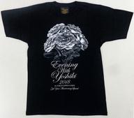 【中古】Tシャツ(男性アイドル) YOSHIKI Tシャツ ブラック Sサイズ 「EVENING WITH YOSHIKI 2018 IN TOKYO JAPAN 6DAYS 5TH YEAR ANNIVERSARY SPECIAL」