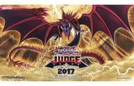 【中古】サプライ 遊戯王OCG 英語版 デュエルフィールド(プレイマット) 『オシリスの天空竜』 2017 JUDGE(ジャッジ)限定