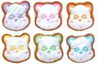 【中古】クッション・抱き枕・本体(男性) 全6種セット スーパーマーケット クッキーサンドクッション 「え~パンダ(AAA)」