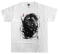 【中古】Tシャツ(キャラクター) 覇王丸 墨絵Tシャツ ホワイト 「秋フェス2019夏×サムライスピリッツ」