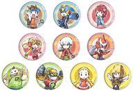 【中古】バッジ・ピンズ(キャラクター) 全10種セット 「ロックマン エグゼ 缶バッジ 01.グラフアートデザイン」