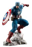 【中古】フィギュア ARTFX PREMIER キャプテン・アメリカ 「アベンジャーズ」 1/10 PVC塗装済み簡易組立キット【タイムセール】