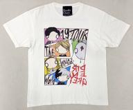 【中古】Tシャツ(男性アイドル) DIR EN GREY TシャツA ホワイト Lサイズ 「TOUR19 The Insulated World」