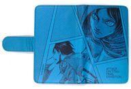 【中古】携帯ジャケット・カバー(キャラクター) エレン・イェーガー 手帳型スマホケース Mサイズ 「進撃の巨人展 FINAL」