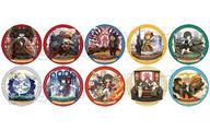 【中古】バッジ・ピンズ(キャラクター) 全10種セット 「GOD EATER:ゴッドイーター キャラクタークロニクル トレーディング缶バッジ」