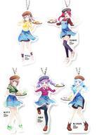 【中古】キーホルダー・マスコット(キャラクター) 全5種セット 「BanG Dream! ガールズバンドパーティ! CAFE 全身アクリルキーホルダー」